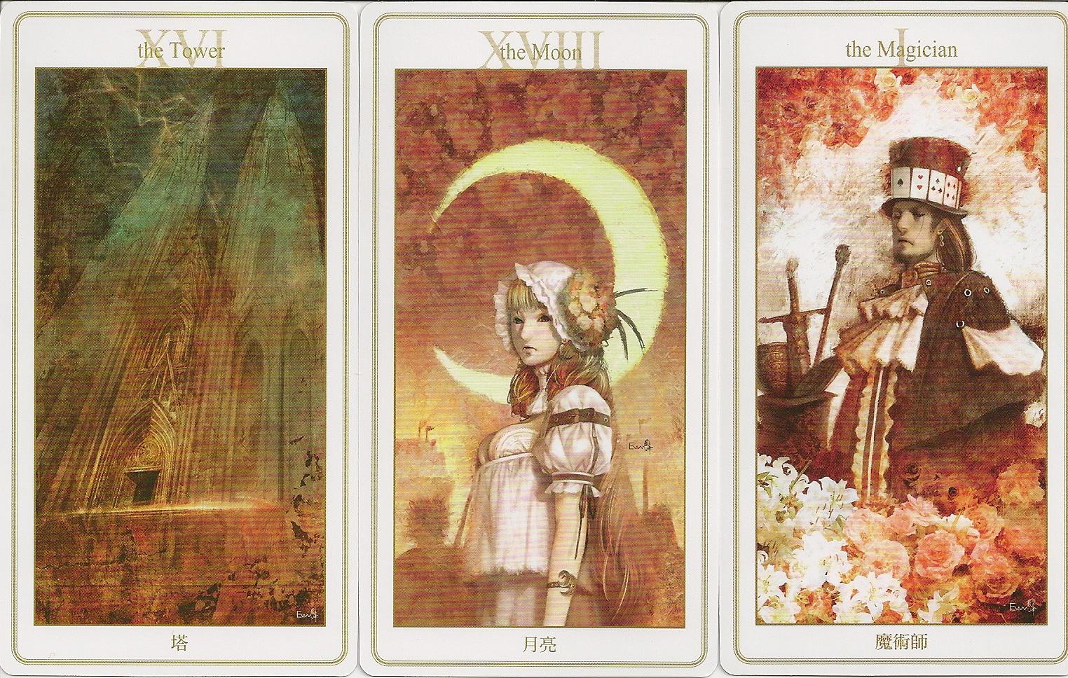 Tarot cards and erotic