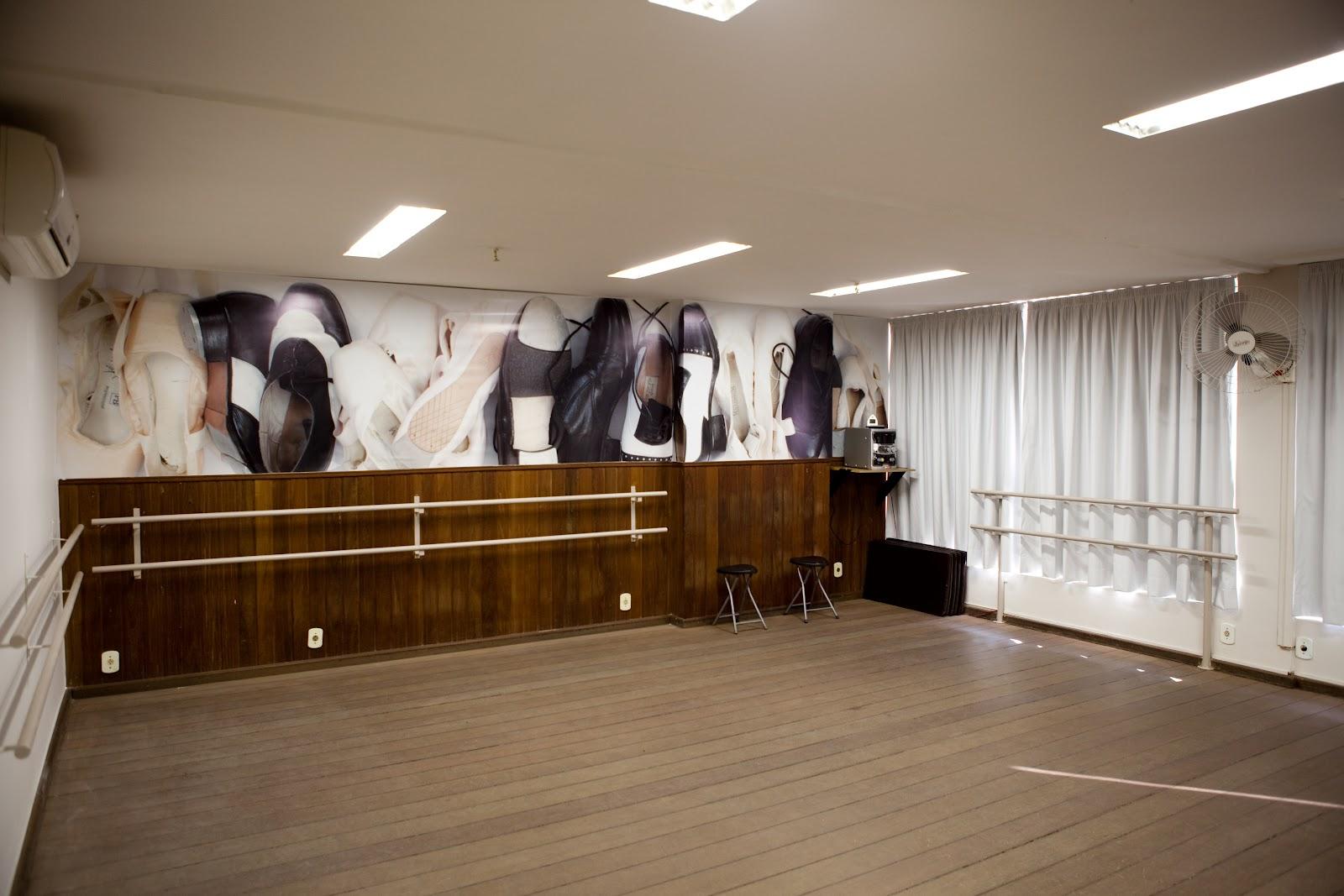 decoracao de interiores academiasAmely criei um painel de 650m de