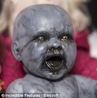 gambar bayi iblis, jin, setan