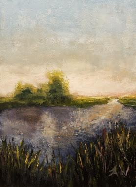 """""""Wetlands"""" 6x8"""