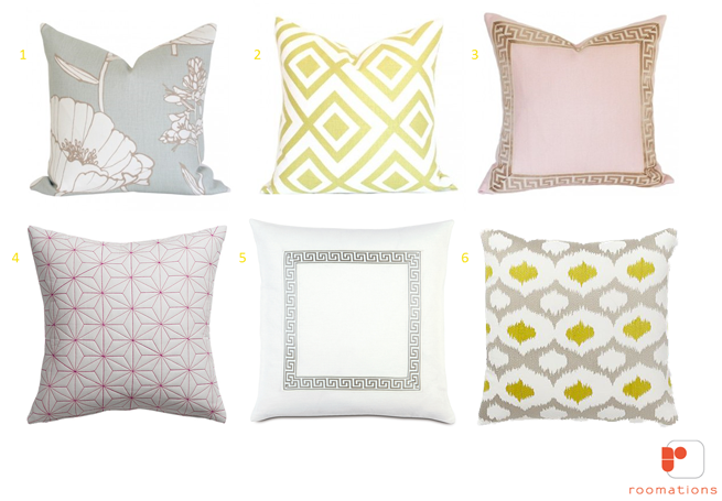Summer Pillows Style Board
