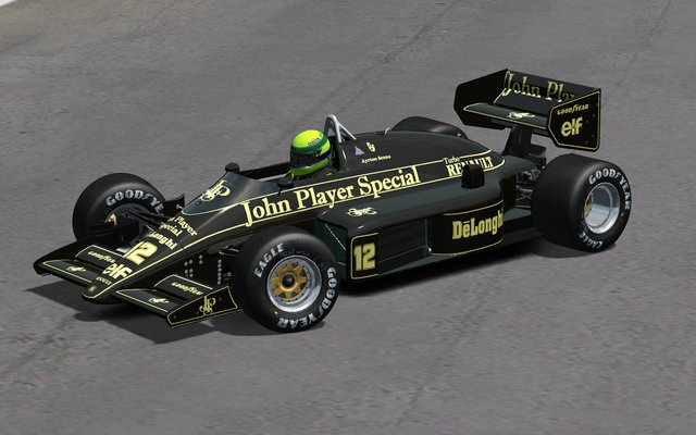 rFactor nuevo mod historico Lotus 98T