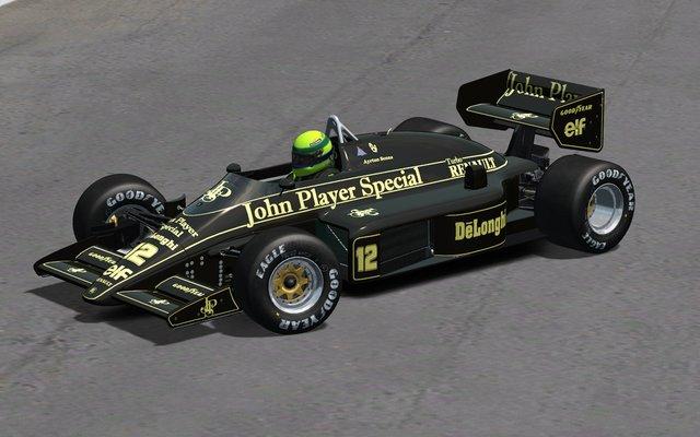 rFactor nuevo mod historico Lotus 98T
