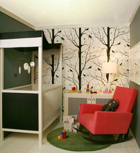 Decorar la pared con un mural papel pintado casas for Papel mural living comedor