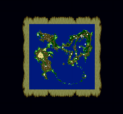 Final Fantasy 5 world map