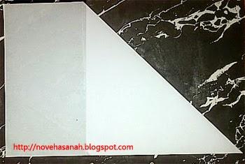 langkah 2 cara membuat kerajinan tangan anak berbentuk angsa dari kertas bekas