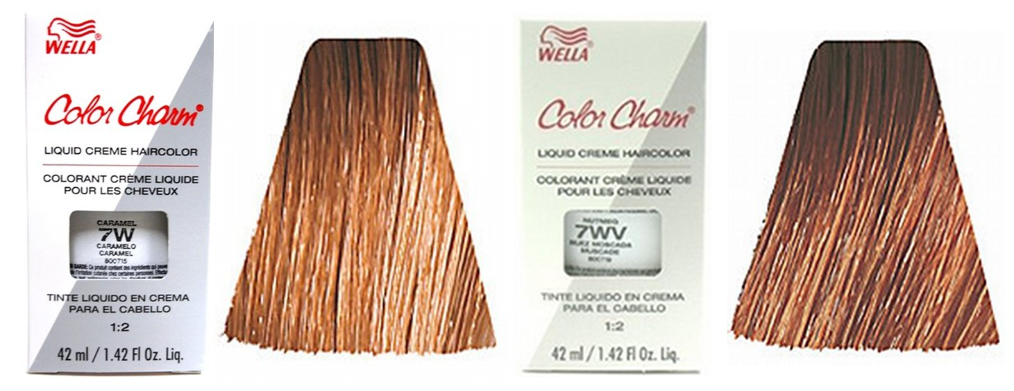 Caramel Hair Color Chart Brown hair color chart wella