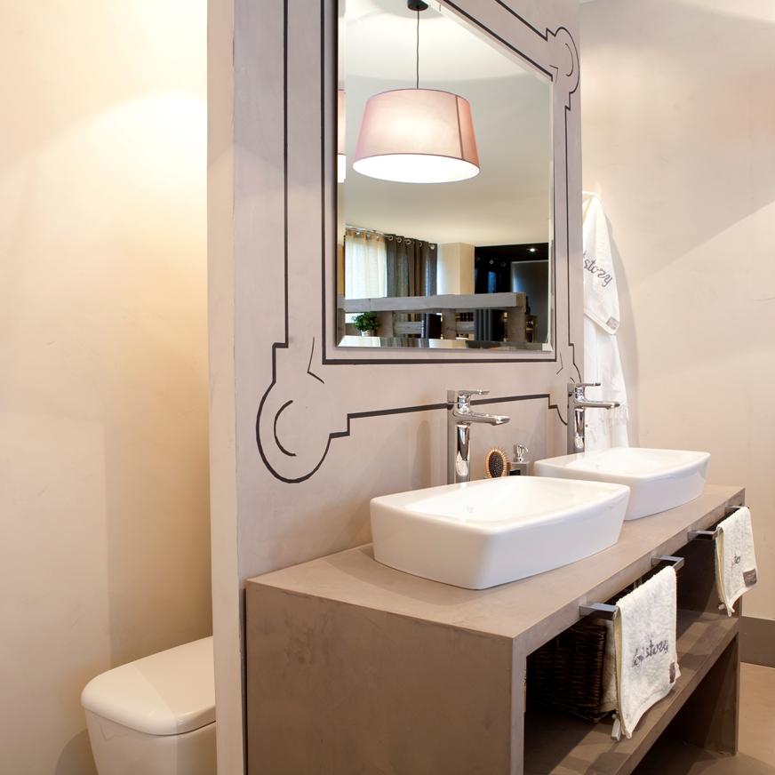 Window to neverland diy personaliza tus espejos for Pintar marco espejo