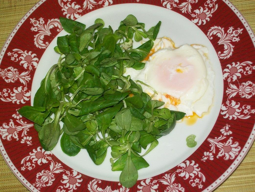 Ricette gruppo sanguigno uova in camicia for Songino valeriana
