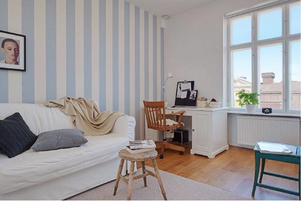 Incantevole appartamento a goteborg blog di arredamento for Arredare una stanza studio