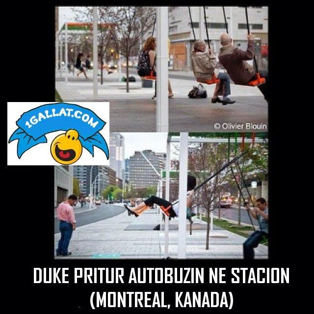 CUDIRA NGA BOTA: Nje Stacion Ne Kanada