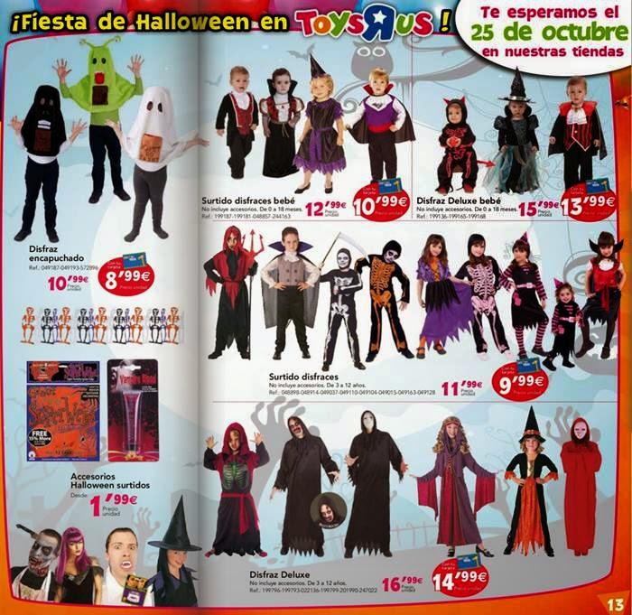Disfraz Halloween 2014 Toysrus