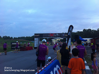 Early morning at Salomon X-Trail 2012, Tampines Bike Park