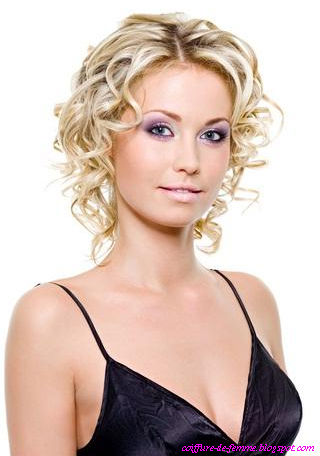 Coiffure de femme coiffure femme e - Coiffure bapteme femme ...