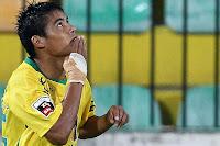 O jogador do Benfica ao serviço do Paços de Ferreira.