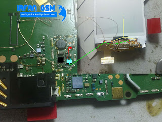 nokia 5130 lcd light full jumper diagram