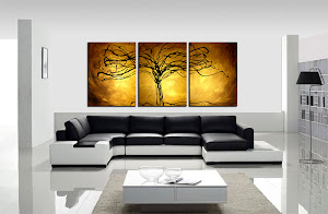 "ORIGINAL ABSTRACT PAINTING ""TREE OF LIFE"" ONLY $250"