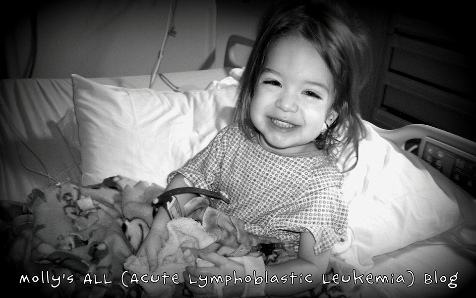 Molly's ALL (Acute Lymphoblastic Leukemia) Blog