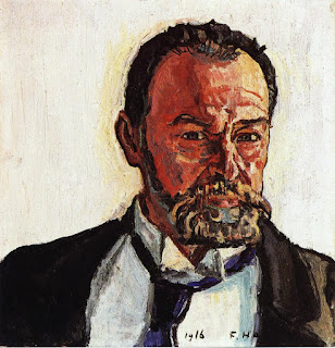 Hodler Self Portrait