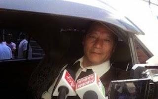 Bimal Gurung leaves for Varanasi, Delhi trip