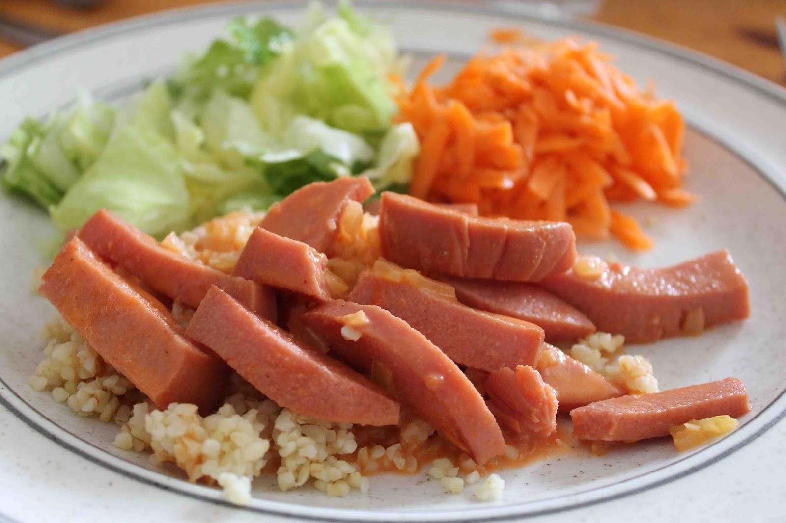korvstroganoff med ris
