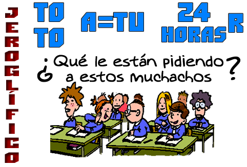 De regreso a clases, Retos matemáticos, Desafíos matemáticos, Problemas matemáticos, Jeroglíficos, Jeroglíficos para estudiantes