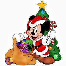Mickey Mouse navidad con regalos