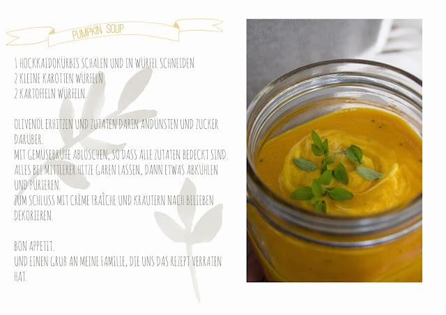 Kürbissuppe im Einmachglas, Pumpkin soup Rezept