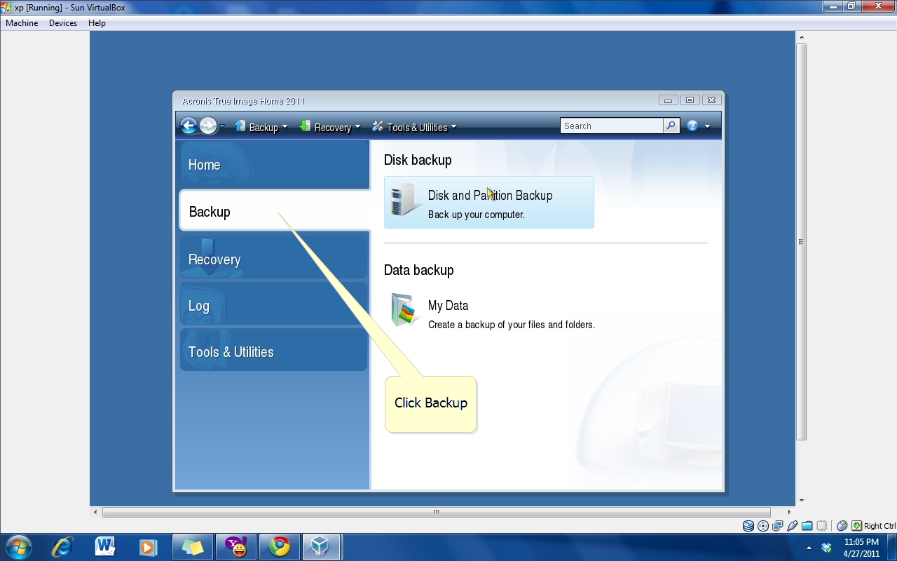 Sir Sherwin's Computer Tutorial: Disk Imaging Using Acronis True Image - Back up and maintenance ...