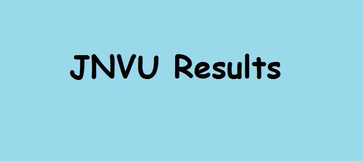 JNVU Results 2014
