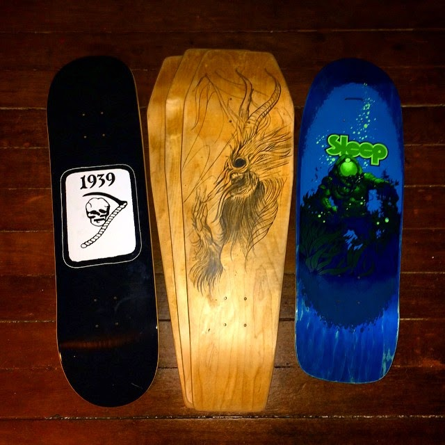 1939 skates x corpse corps boards x ironxhanger ©