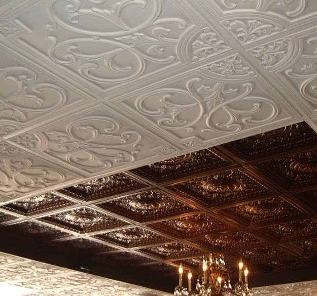 All things luxurious: ceiling tiles by us: a guest post