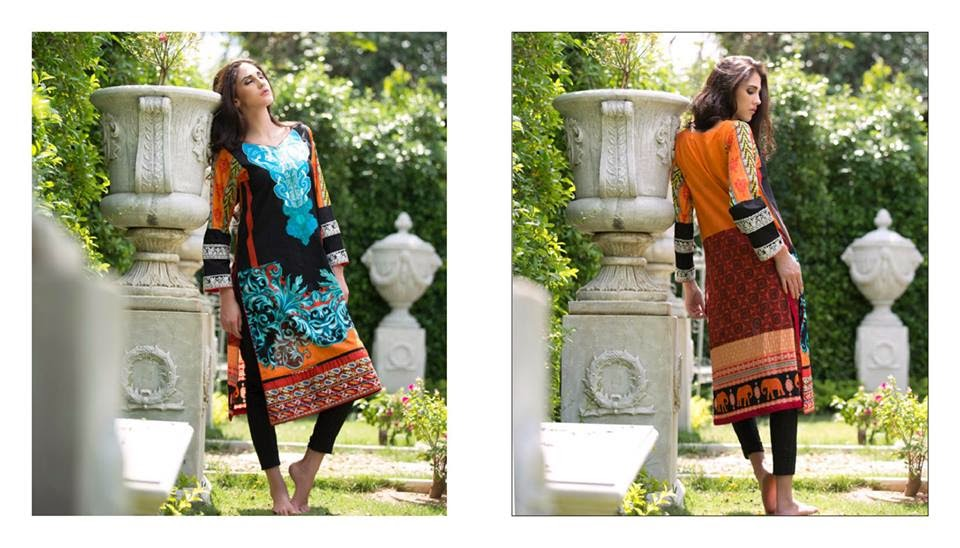 Firdous carnival kurti collection 2015