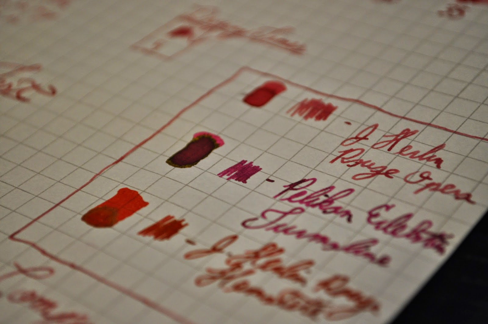 J. Herbin Rouge Opera Comparison