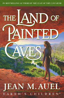 Cover image of the novel The Land of Painted Caves by Jean M Auel
