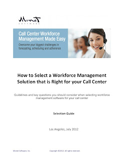 Workforce Management Selection Guide - Monet Software