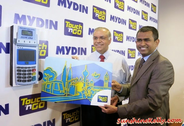 Touch N Go Now at Mydin, Touch N Go, Mydin Mall, Mydin, Datuk Wira Dr. Hj. Ameer Ali Mydin, Managing Director of Mydin Mohamed  Holdings Bhd, Abdul Karim Md Lassim, CEO of TNG Sdn Bhd