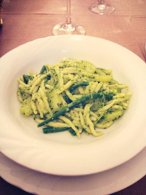 Foto del blog Foodpics Italy: pesto, patate e fagiolini