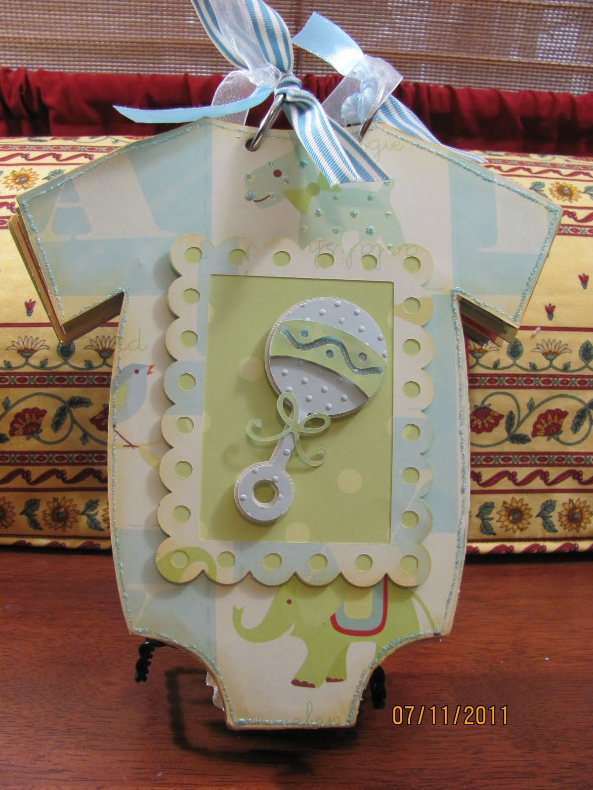 Craft macaroni and paper new arrival onesie chipboard