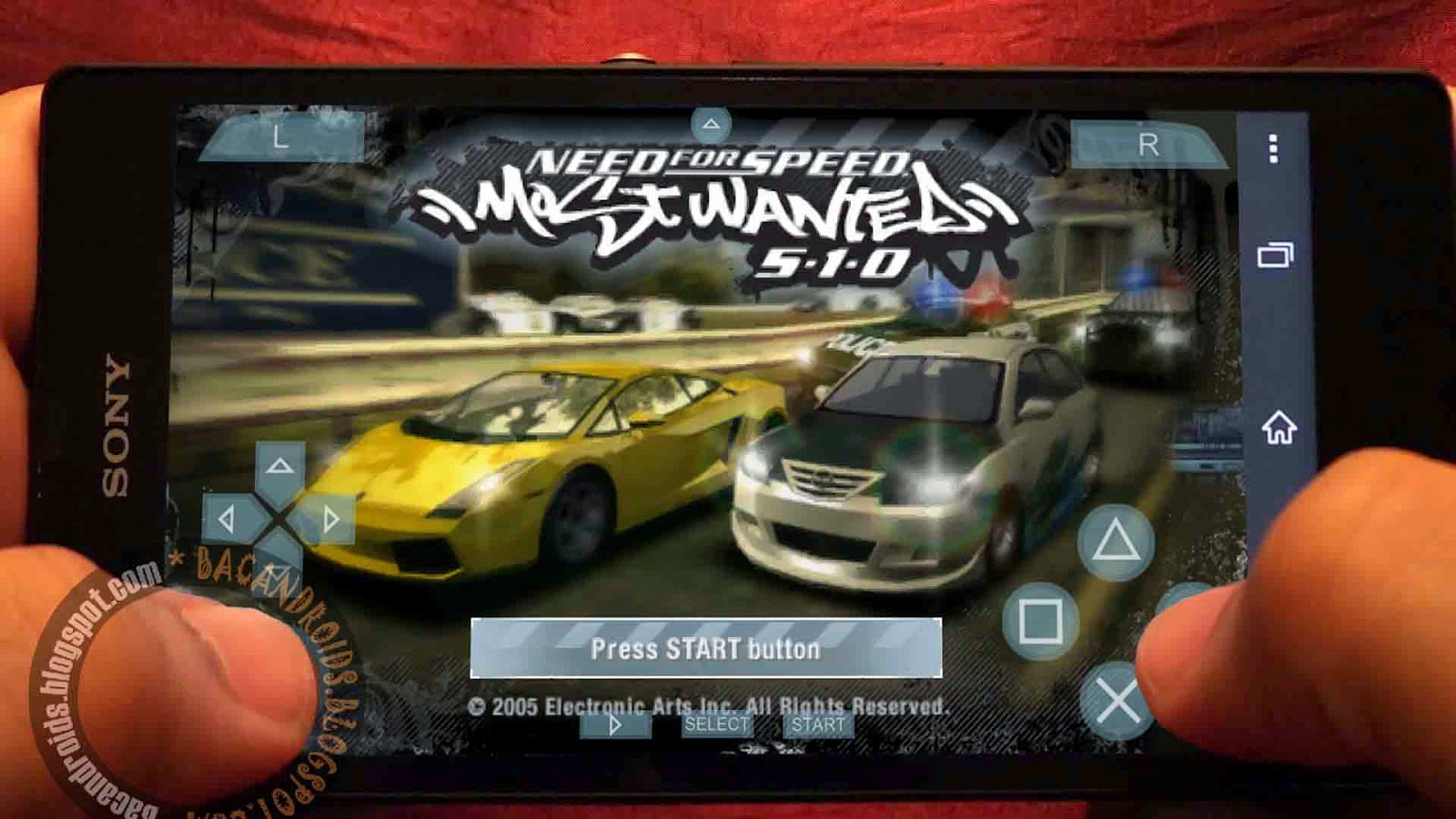 Download Game Need For Speed Most Wanted untuk PSP Android