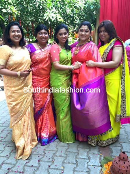celebs at trisha krishnan engagement