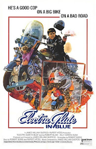 Electra Glide in Blue Poster