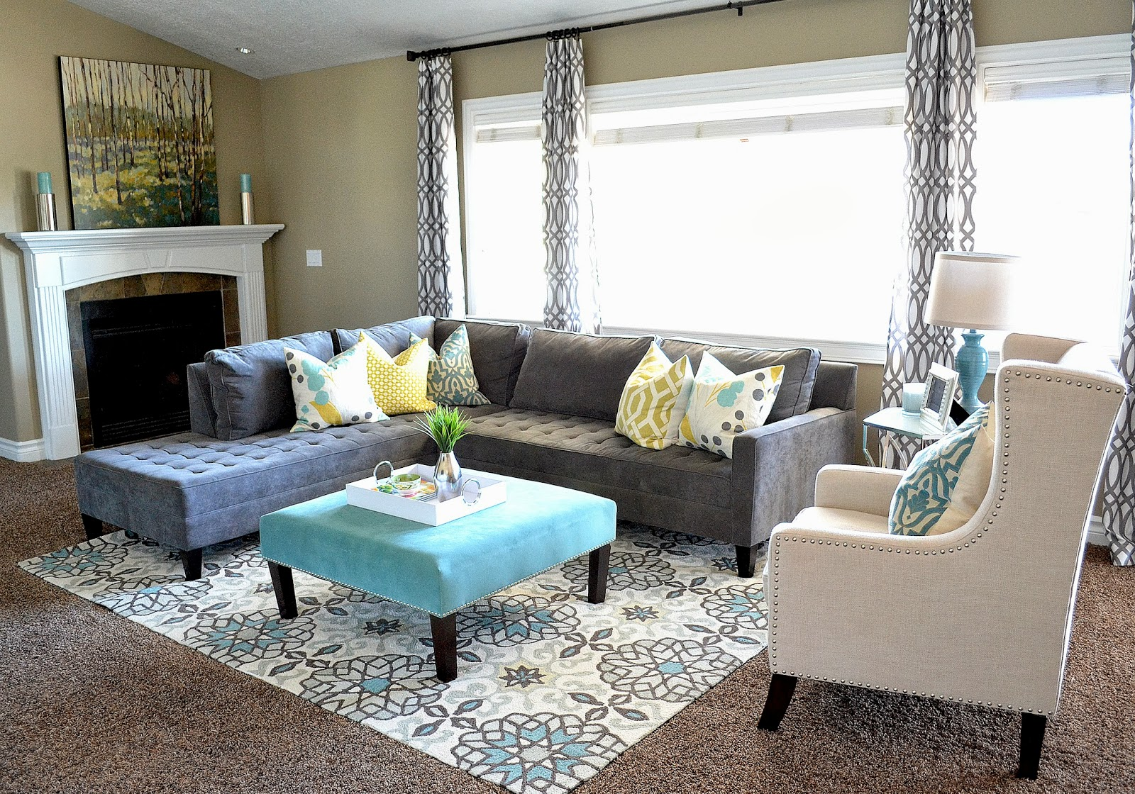 Local Client Project Reveal: Budget Friendly Family Room - Sita ...