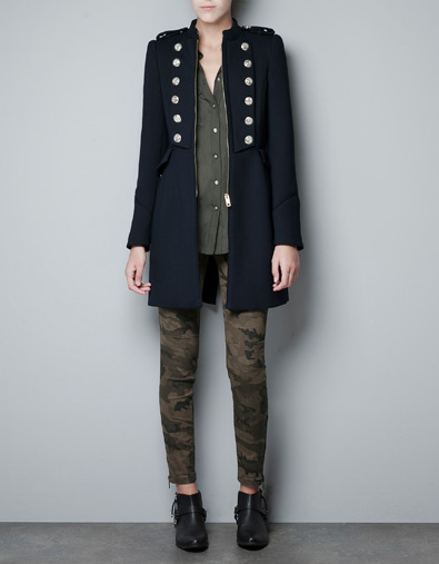 Fall/Winter 2012-2013 clothes: Military and camouflage
