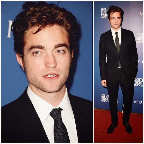 Robert Pattinson wears Gucci suit to Hollywood Foreign Press Association's Grants Banquet 14th August 2014