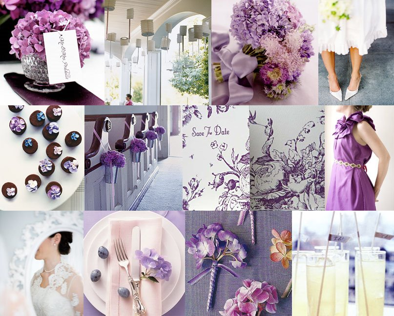 The Wedding Decorator Lavender And Purple Wedding Inspirations In
