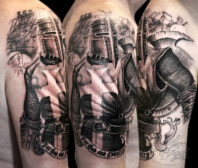 Chevalier Tatouage - Knight Tattoo