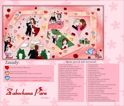 Plansza Walentynkowa : Zakochana Para