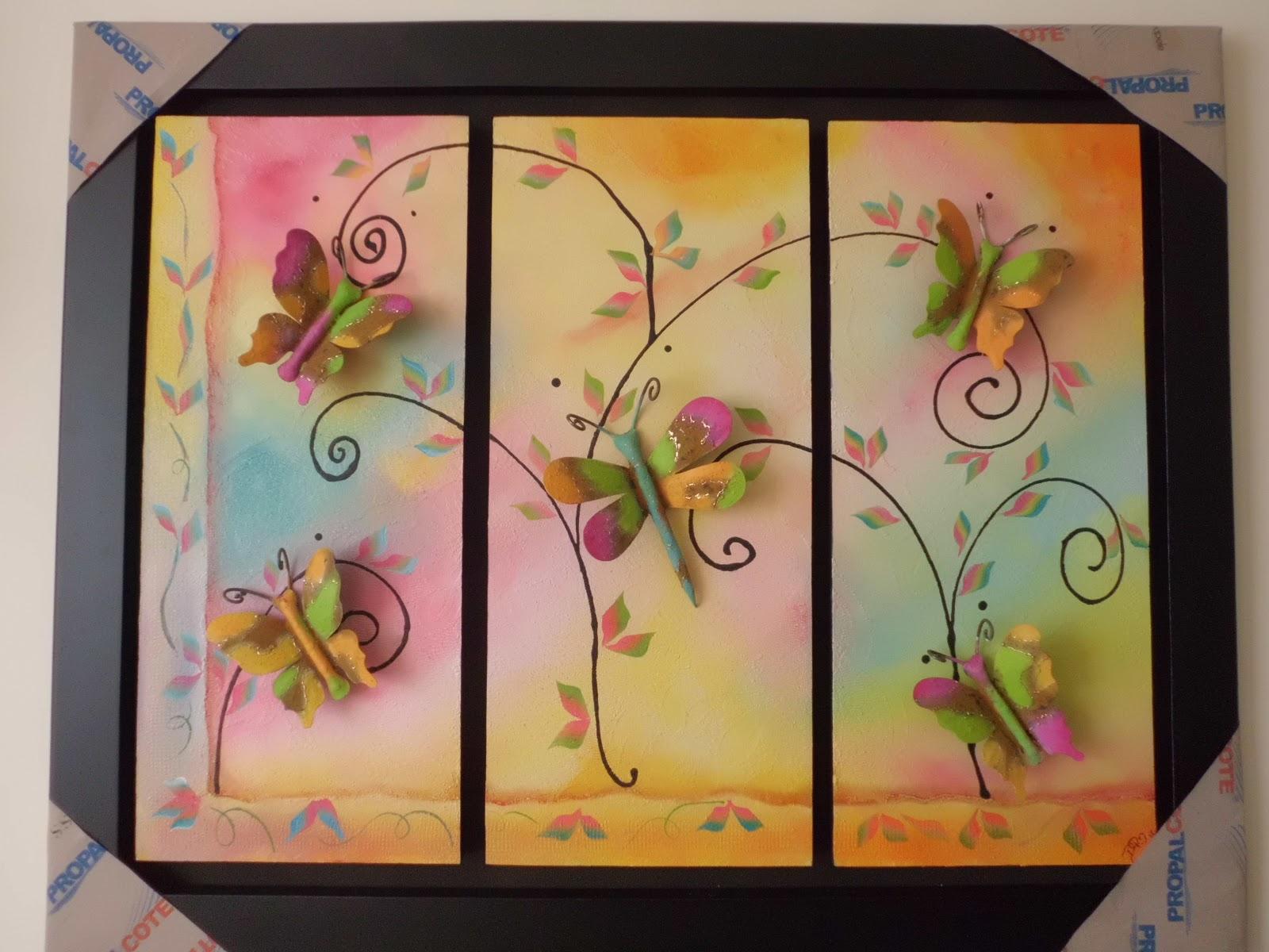 Manualidades cuadros decorativos - Manualidades faciles cuadros ...
