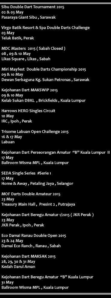 CALENDART MAY 2015